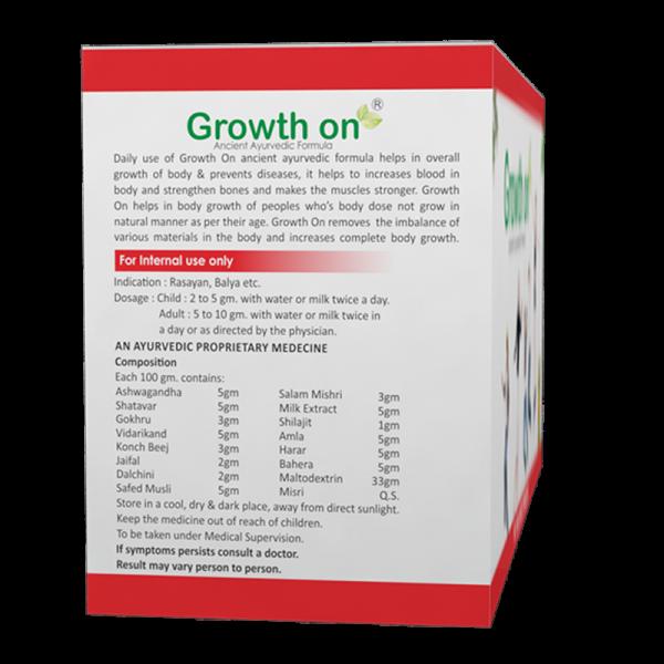 Real Growth On Powder